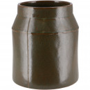 Ceramic bucket Celso, D14cm, H18cm, for TO12, gree